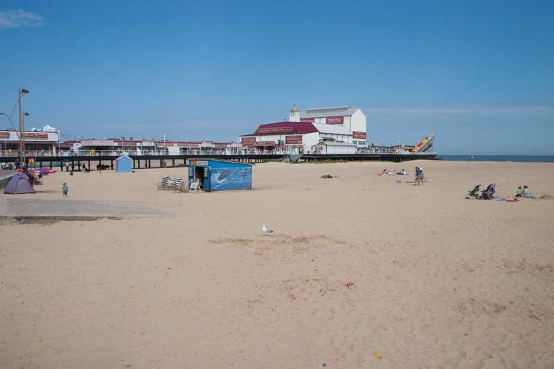 Great Yarmouth Beach Dogs
